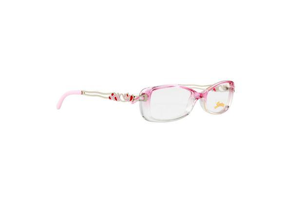 b42a8c4f2 Óculos Armação Infantil Senninha Rosa Astes Prata Detalhes - Óculos ...