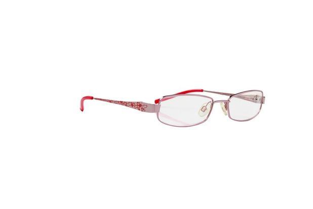 32990d57d Óculos Armação Infantil Senninha Rosa Metalizado Detalhes - Óculos ...