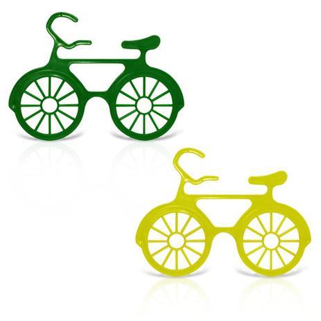 Óculos Bicicleta Verde e Amarelo 12 unidades - Festabox - Óculos ... 78a744d914