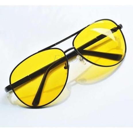 77c1a95ef Óculos Bl Night Drive Para Dirigir à Noite - Noturno Lentes Amarelas -  Vinkin