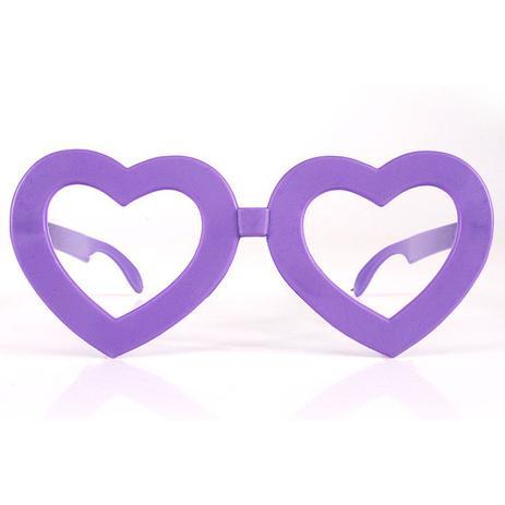 Óculos Coração Sem Lente Para Festas - Aluá festas - Óculos de Festa ... f33ddfd668