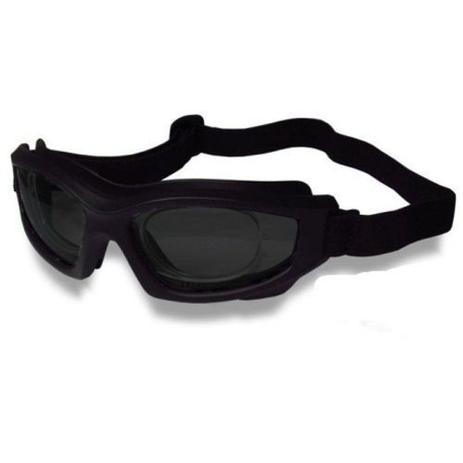 cee0ad06b6755 Óculos D-Tech Escuro para Futebol + Adaptador de Lentes de Grau - Danny