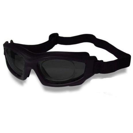 35b90866d8f35 Óculos D-Tech Escuro para Futebol + Adaptador de Lentes de Grau - Danny