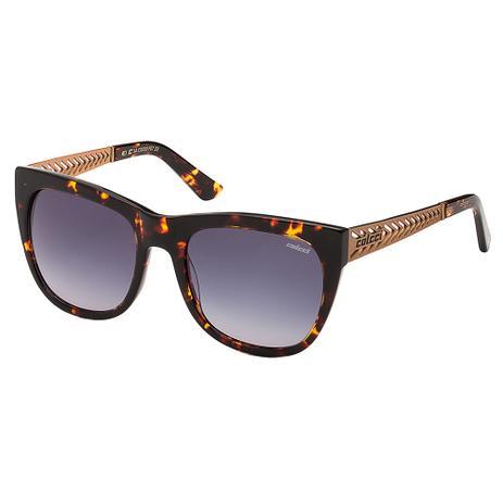 Óculos De Feminino Marrom Demi E Cobre Fosco Colcci - Óculos de Sol ... 0f8a5cb7ea