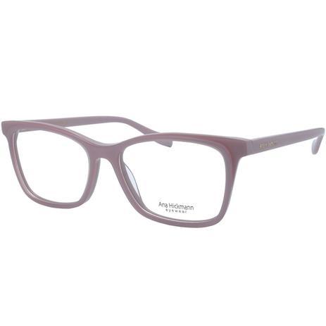 68f3e7316 Óculos de Grau Ana Hickmann Feminino AH6347 H04 - Acetato Rosa ...