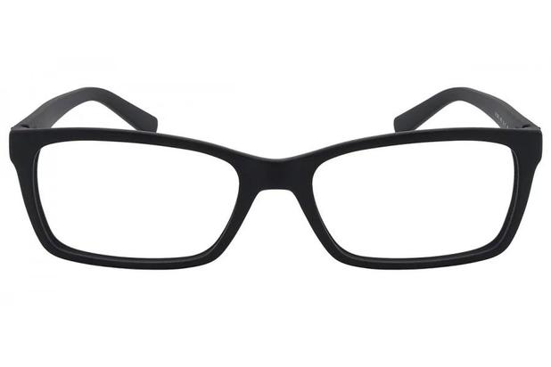 d68d89108 Óculos de Grau Armani Exchange AX3007L 8157/53 Azul Escuro Fosco ...