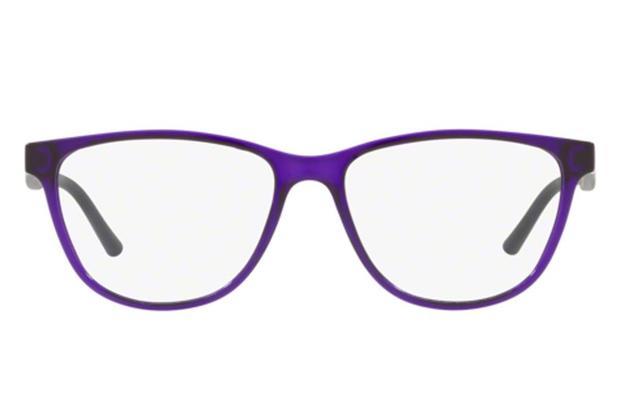 33f0ce9ff5dd4 Óculos de Grau Armani Exchange AX3047L 8236 53 Roxo Transparente ...