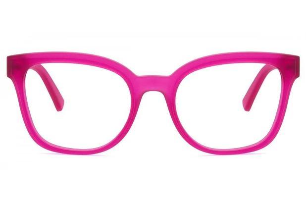 5672cd841dd9a Óculos de Grau Armani Exchange AX3049L 8249 52 Framboesa Fosco ...