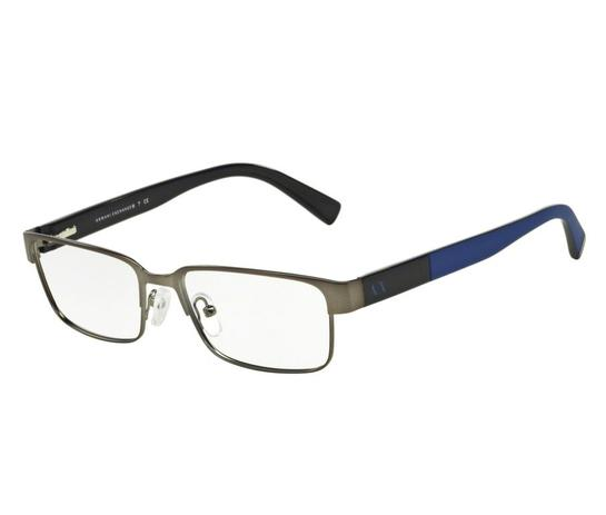 f12cb8e4f6679 Óculos de Grau Armani Exchange Masculino AX 1017L 6084 Tam.54 ...