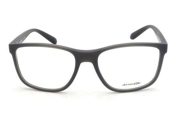 2760ba8398740 Óculos de Grau Arnette AN7150L 2535 55 Cinza Fosco - Óculos de grau ...