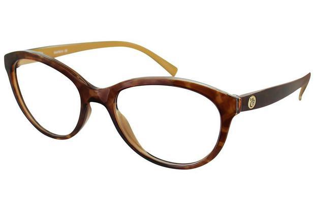 52811c5f9faa8 Óculos de Grau Capricho Vintage Fever 76003 687 51 Tartaruga ...