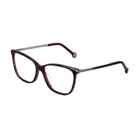 479fd5683317c Óculos de Grau Carolina Herrera Feminino VHE758 COL.06BA - Acetato  Tartaruga Roxo