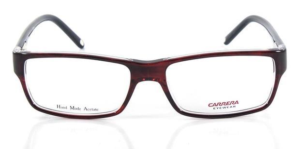 3e5fea809 Óculos de Grau Carrera CA6183 Vinho Preto - Óptica - Magazine Luiza