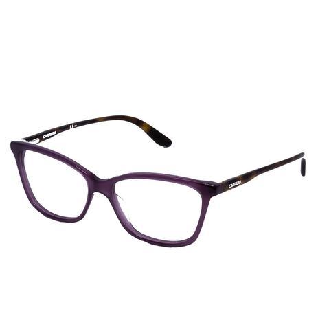 f9173259a Óculos de Grau Carrera Feminino CA6639 CHKZ - Acetato Roxo - Óptica ...