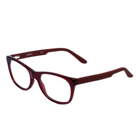 7e49c1ffe Óculos de Grau Carrera Feminino CA6652 Acetato Vermelho - Óculos ...