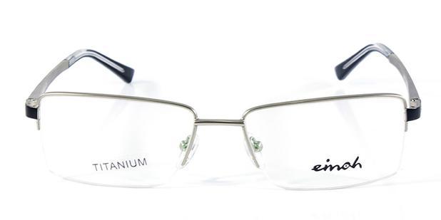 Óculos de Grau Einoh MMTB1146P Prata - Acessórios de moda - Magazine ... f0d7b3743a