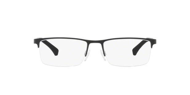 214666330e6ee Óculos de Grau Emporio Armani EA1041 3175 Preto Lentes Tam 55 ...