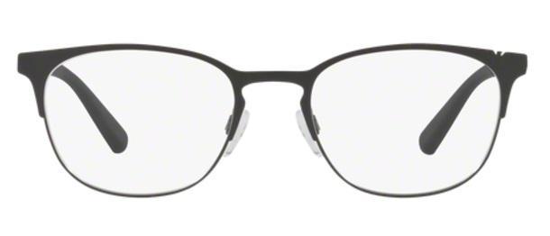 866e628bc6536 Imagem de Óculos de Grau Emporio Armani EA1059 3001 Preto Fosco Lentes Tam  53