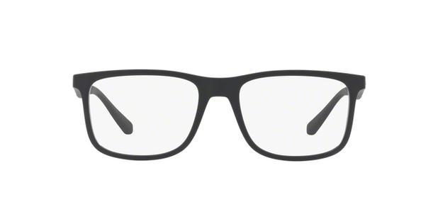 Óculos de Grau Emporio Armani EA3112 5042 Preto Fosco Lentes Tam 56 ... 3131952e5e
