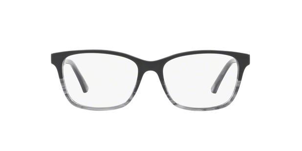 420b2137fe52f Óculos de Grau Emporio Armani EA3121 5566 Preto Lentes Tam 52 ...