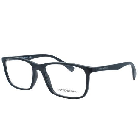 Óculos de Grau Emporio Armani Masculino EA3116 5596 - Acetato Azul Petróleo ac278acbbc