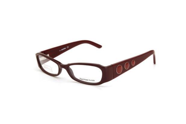 61fe3a3f8e2ce Óculos De Grau Feminino Diesel Metal Vinho - Óculos de grau ...