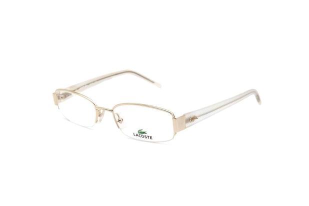 3203cbccd Óculos De Grau Feminino Lacoste Metal Dourado - Óculos Feminino ...