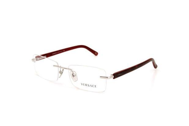 f9e213de3 Óculos de Grau Feminino Versace Metal Vermelho - Óptica - Magazine Luiza