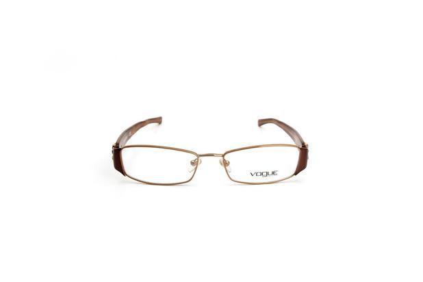 d707ba595 Oculos de Grau Feminino Vogue Metal Cobre Quadrada - Óculos de grau ...