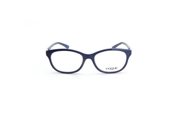 dca70d125 Oculos de Grau Feminino Vogue Quadrado Acetato Azul - Óculos de grau ...