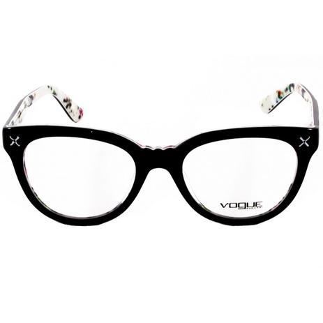 54663bb0d90cf Óculos De Grau Feminino Vogue VO2887 2210 Tam.51 - Vogue original ...