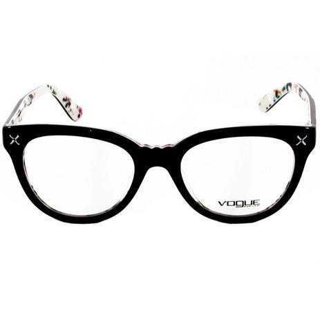 939c6a048 Óculos De Grau Feminino Vogue VO2887 2210 Tam.51 - Vogue original ...