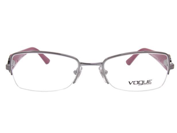 9eeb0a0355170 Óculos De Grau Feminino Vogue VO3864 548 Tam.51 - Vogue original ...