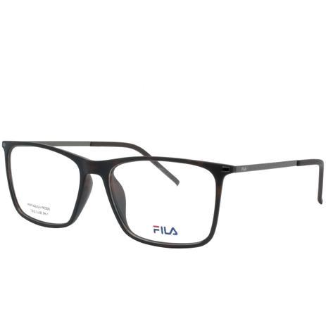 effcf115d46d1 Óculos de Grau Fila Masculino Acetato Marrom - VF9139 878Y - Óptica ...