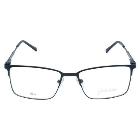 b1b982d5d Óculos de Grau Glasses Masculino Retangular A2310 - Metal - Óptica ...
