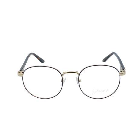 ebfc5a21d Óculos de Grau Glasses Unissex Redondo SL80434 - Metal - Óculos ...