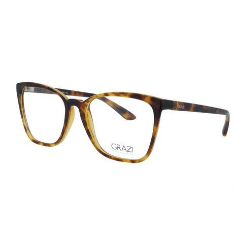 9a1a642c6 Óculos de Grau Grazi Massafera Feminino GZ3054 F911 - Acetato Tartaruga  Marrom