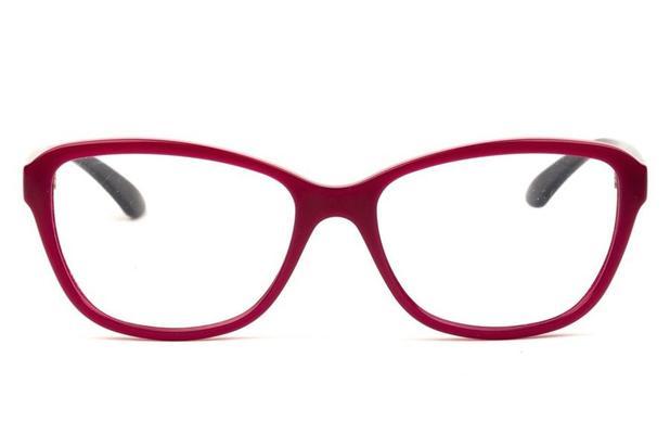 eacb52919 Óculos de Grau Grazi Massafera GZ3037 F065/54 Cereja Brilhante ...
