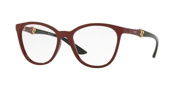 c4e5244ebe900 Óculos de Grau Grazi Massafera GZ3047 F702 Vermelho Com Cristais Da  SWAROVSKI Lente Tam 52