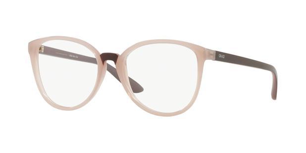 3ebe2dd5f43b2 Óculos de Grau Grazi Massafera GZ3053 F910 Nude Lente Tam 51 ...