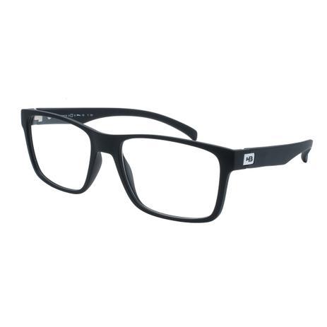 8cb7ba301c31a Óculos de Grau HB Masculino M.93108 C701 - Acetato Polytech Preto - Hb -  hot butterd