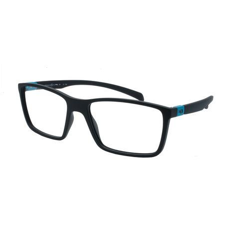 6a5acdb7e Óculos de Grau HB Masculino M.93136 710 - Acetato Polytech Preto com  Detalhe Azul - Hb - hot butterd