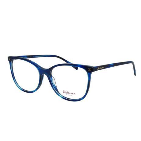 573a0cfb3 Óculos de Grau Hickmann Feminino HI6118 E03 - Acetato Azul - Armação ...