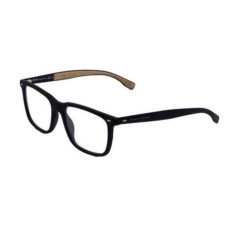 86c4e6085 Óculos de Grau Hugo Boos Masculino BOSS0884 COR5 - Acetato Preto - Hugo boss