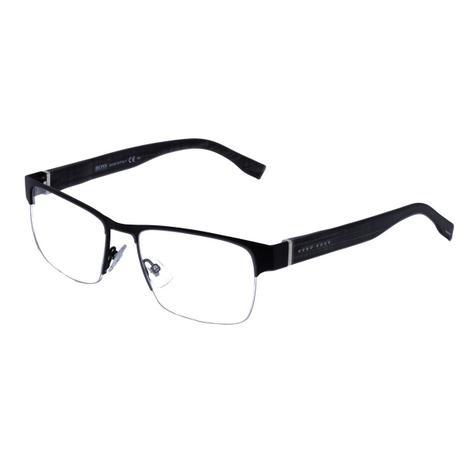4569672d0b7d3 Óculos de Grau Hugo Boss Masculino com Fio de Nylon BOSS0770 CQMM - Acetato  Preto