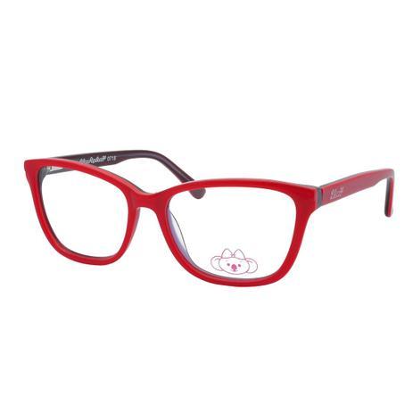 Óculos de Grau Infantil Lilica Ripilica Feminino VLR111 C1 - Acetato  Vermelho ee20ad33cf
