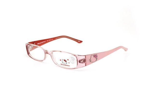 b93453a17 Óculos De Grau Infantil Menina Hello Kitty Metal Rosa | Menor preço ...