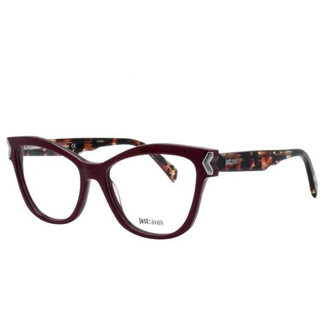 0fe356bc592ef Óculos de Grau Just Cavalli Feminino JC0807 069 - Acetato Bordô ...