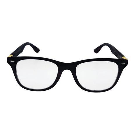 a20f3a7cc Óculos de Grau Khatto Wayfarer Cracked - Óptica - Magazine Luiza