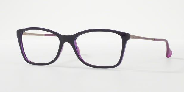 Óculos de Grau Kipling KP3077 D348 Roxo Translúcido Lente Tam 53 ... d11ff79e1c